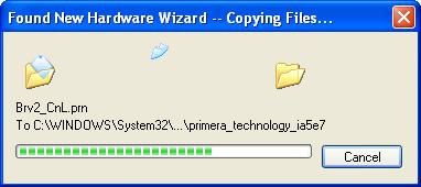 Primera - Printer-Driver for Disc Publisher and CD/DVD/BD-Printer