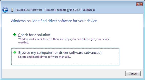 Driver Fails To Install Zune Vista
