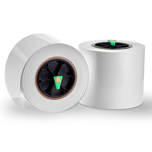 White Gloss BOPP, 2 Rolls, Digital Die-Cutting Stock