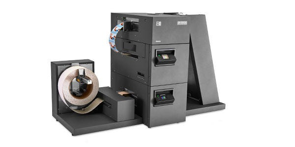 GP3000 Color Retail Tag Press