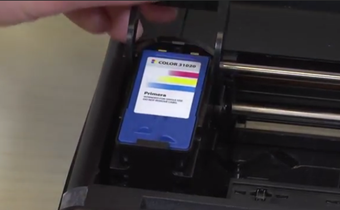 Trio Tech Support: Changing the Ink Cartridge